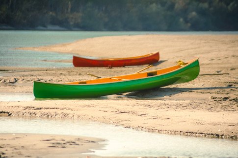 Kanui na pesku