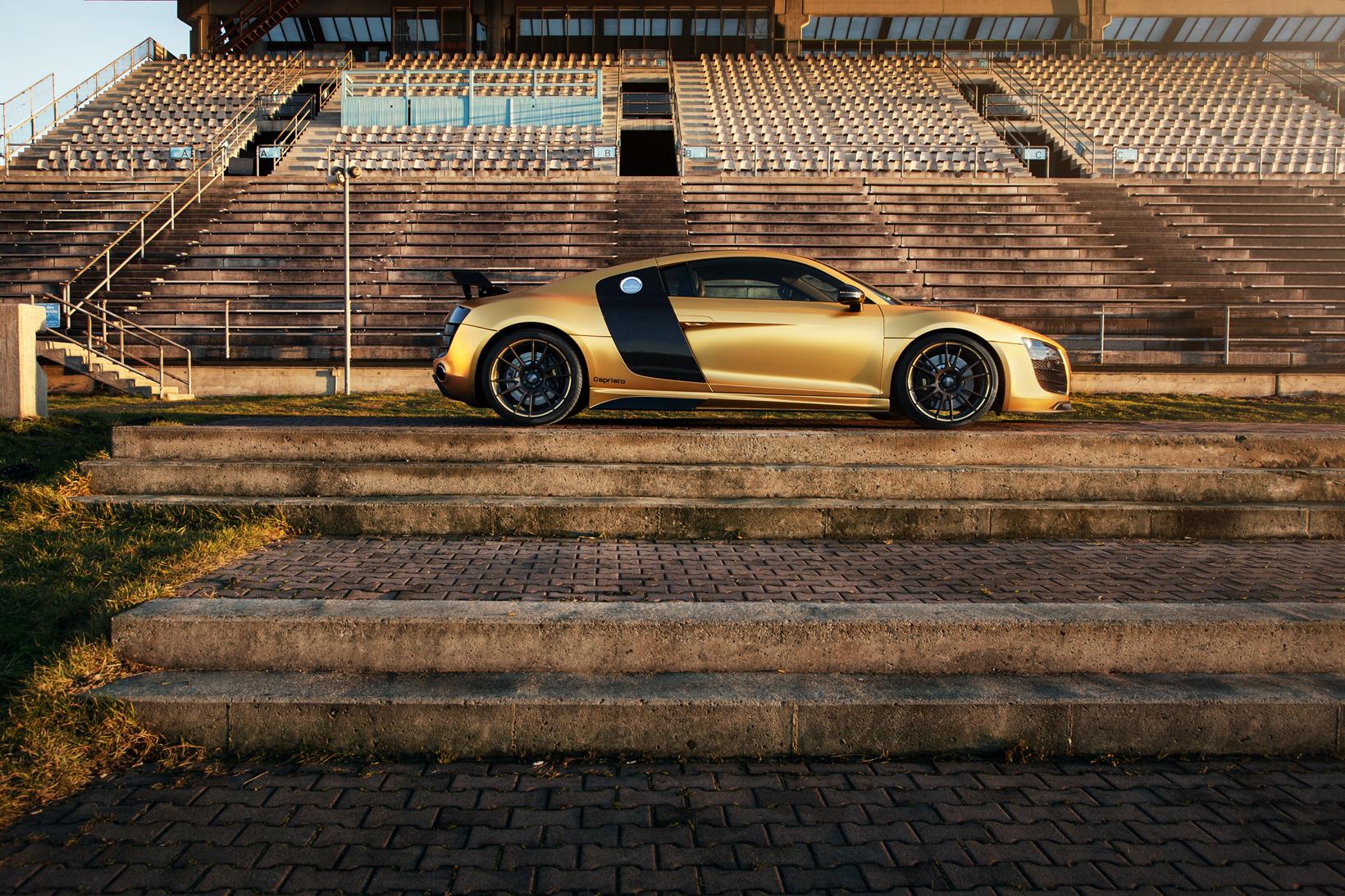 Audi R8 Matte Chrome