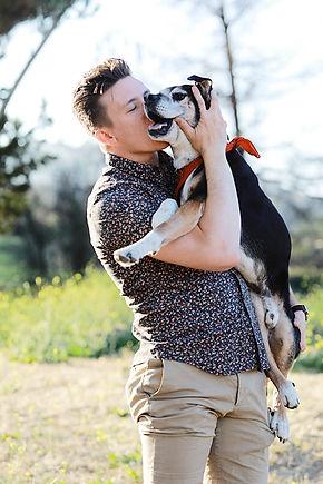 Banksy, the mascot pup of Monroe Films