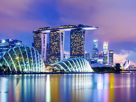Näin on Singaporessa ja Singaporessa.