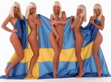 Donne svedesi e foto di donne svedesi.