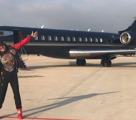 Lujo o necesidad: celebridades rusas que vuelan en jets privados