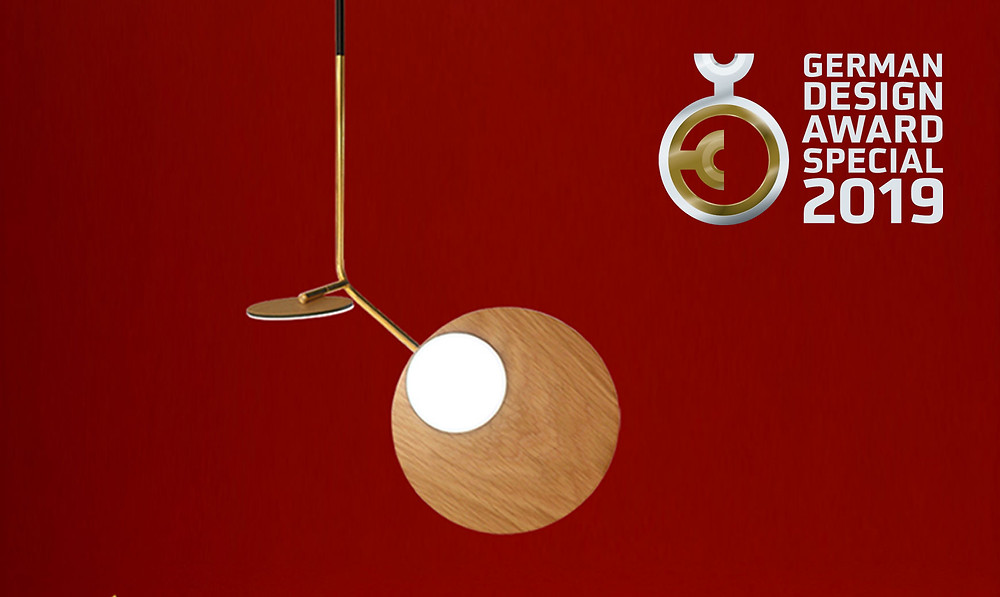 Award Winning Ballon Pendant by Tunto Design