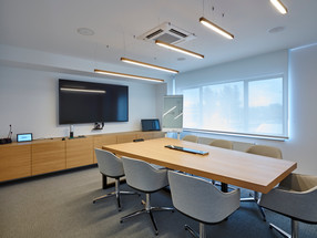 VCS Heverlee Office With A New Linear Lighting System
