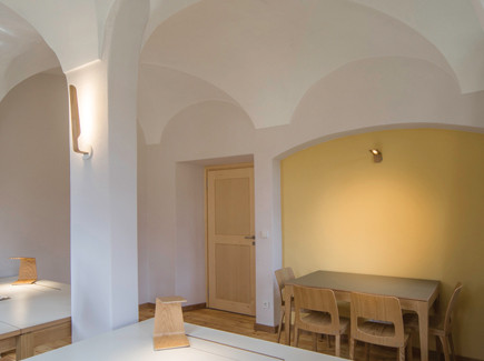 Monastery o with office with our Swan and LED1 lights