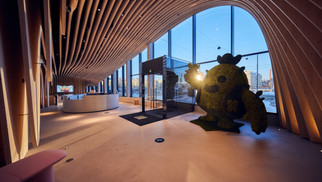 Supercell Sought The Best Lighting Solutions For Wood City In Helsinki, Finland