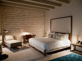 5* Mercer Hotel Barcelona Outfitted Suites With Tunto LED4 Table Lamp