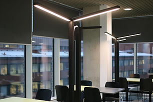 Aalto University with Tunto Design lighting solutions from Finland