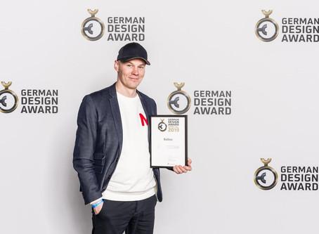 The Ballon Pendant Wins A German Design Award