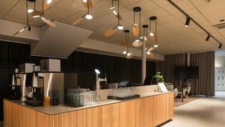 VALO Hotel & Work Illuminated With Tunto's Ballon Pendants