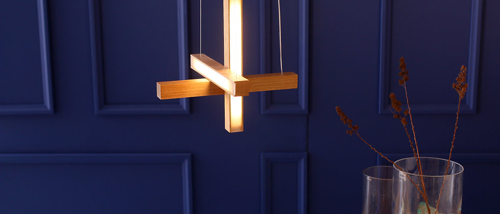 "LED40 ""Cross"" Pendant"