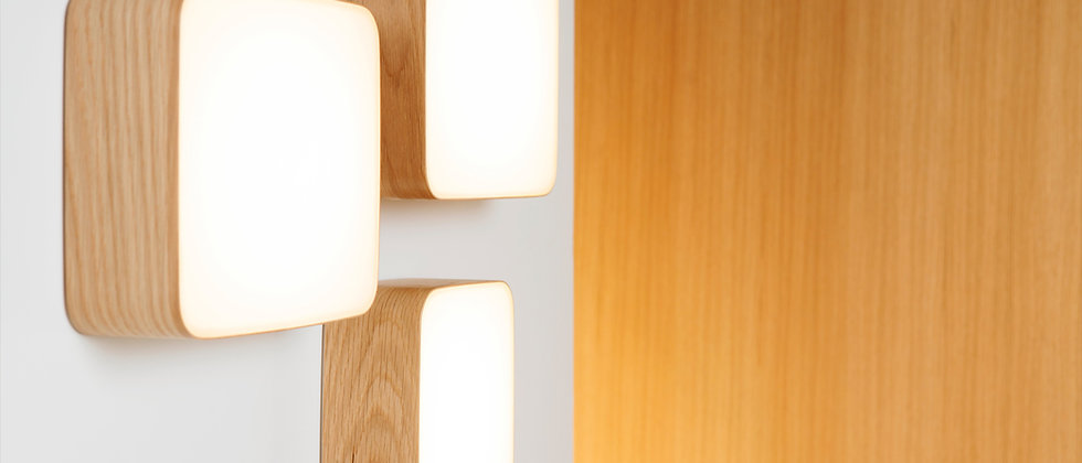 Cube Wall & Ceiling Lamp