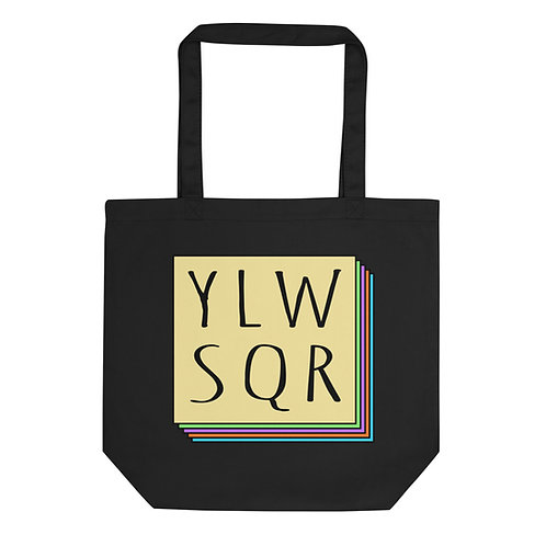 YLWSQR Logo Tote Bag