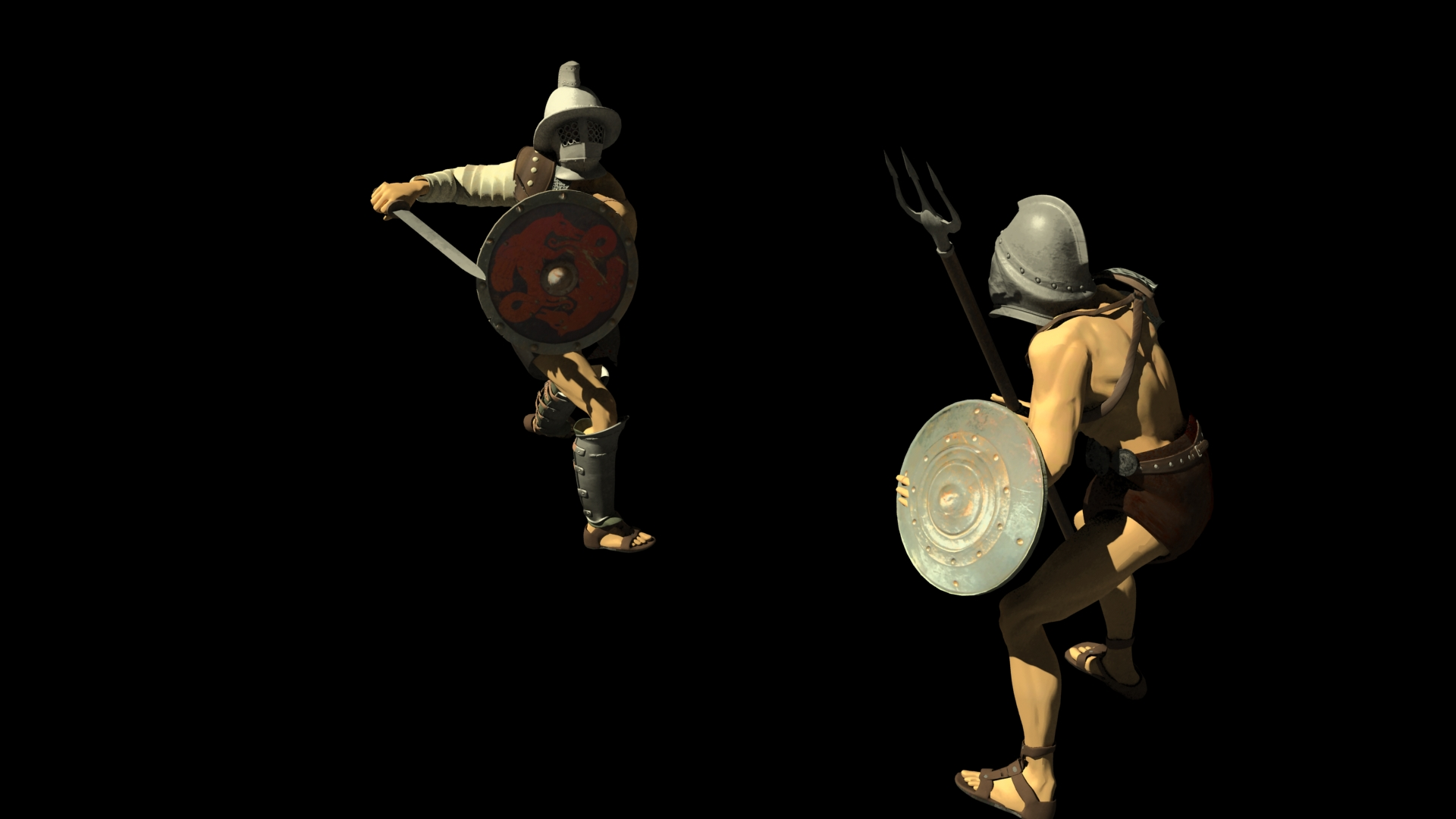 Roman Colosseum Gladiators