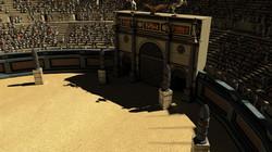 Roman Colosseum Entrance Gate