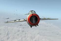 Black Day Over Namsi - MIG-15 Nose