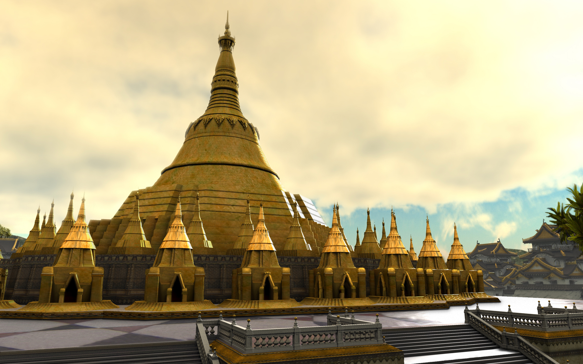 Shwedagon Paya Civilization IV