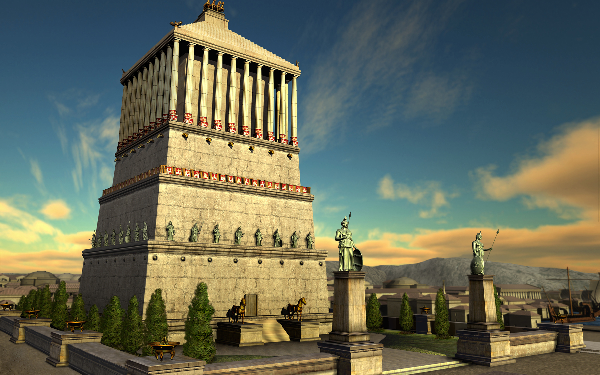 Temple of Halicarnassus Civ IV