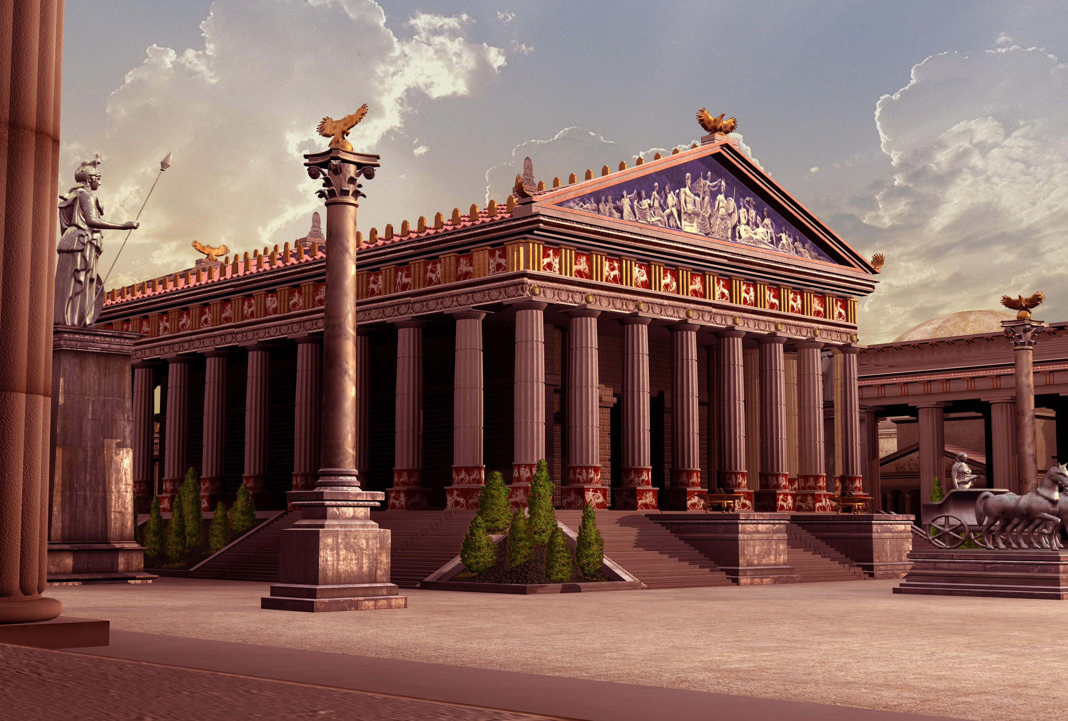 Temple of Artemis - Civilization IV