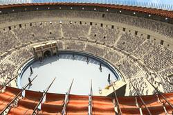Roman Colosseum Crowd Test Render