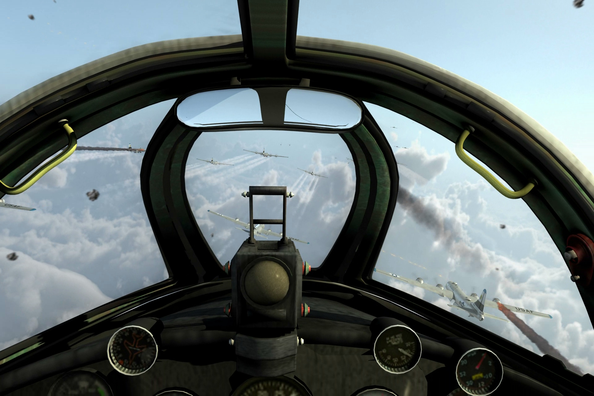 Black Day Over Namsi - MIG Cockpit