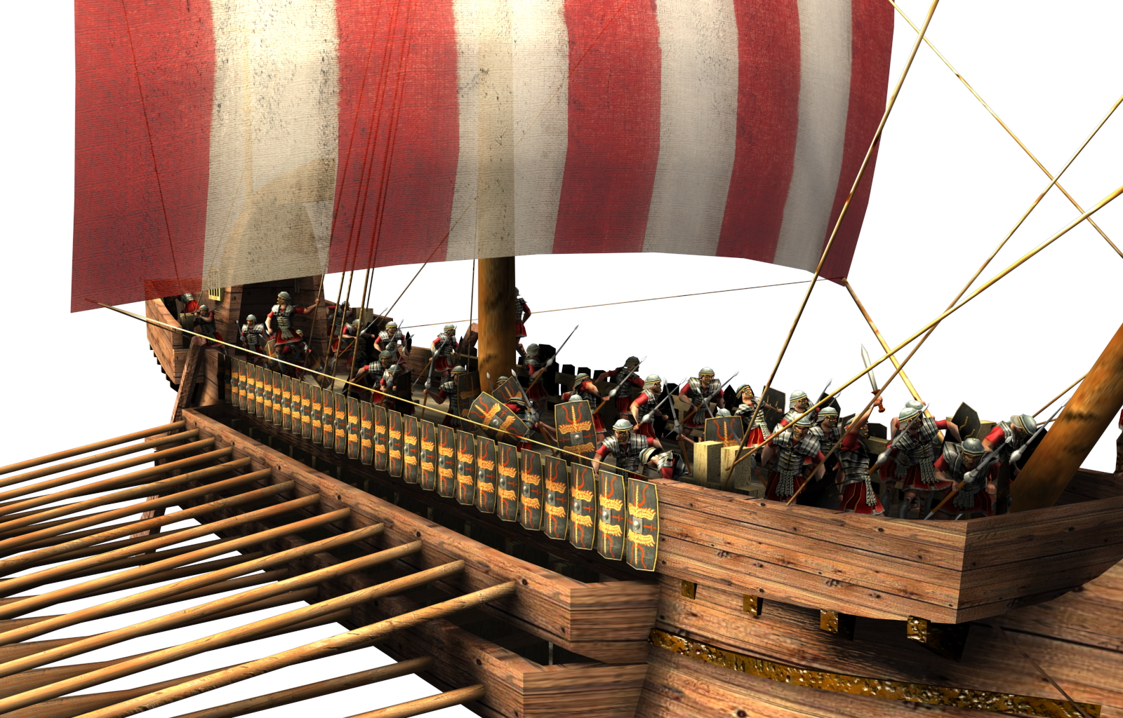 Roman Bireme for Civ IV Intro