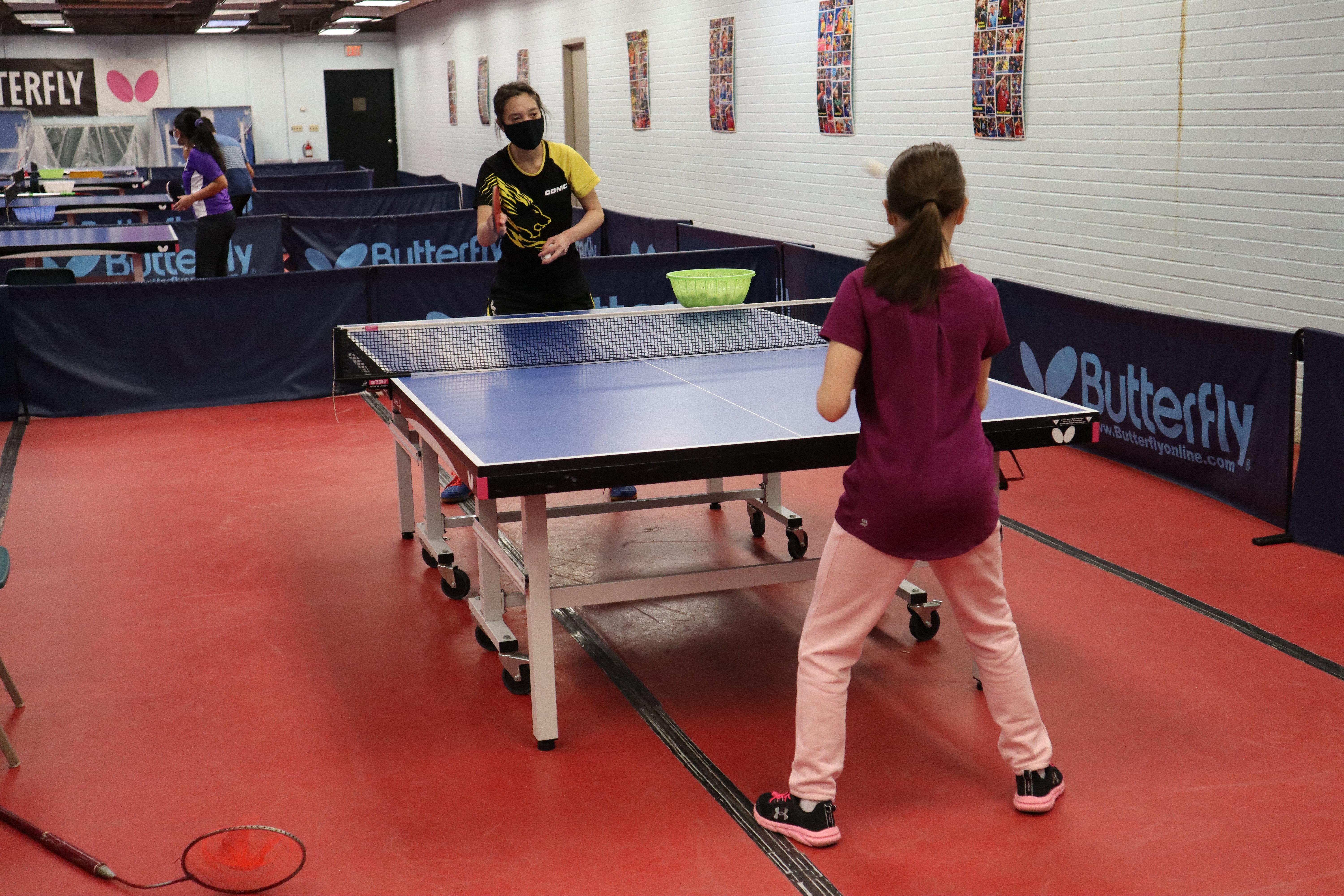 90 min table tennis lesson at home