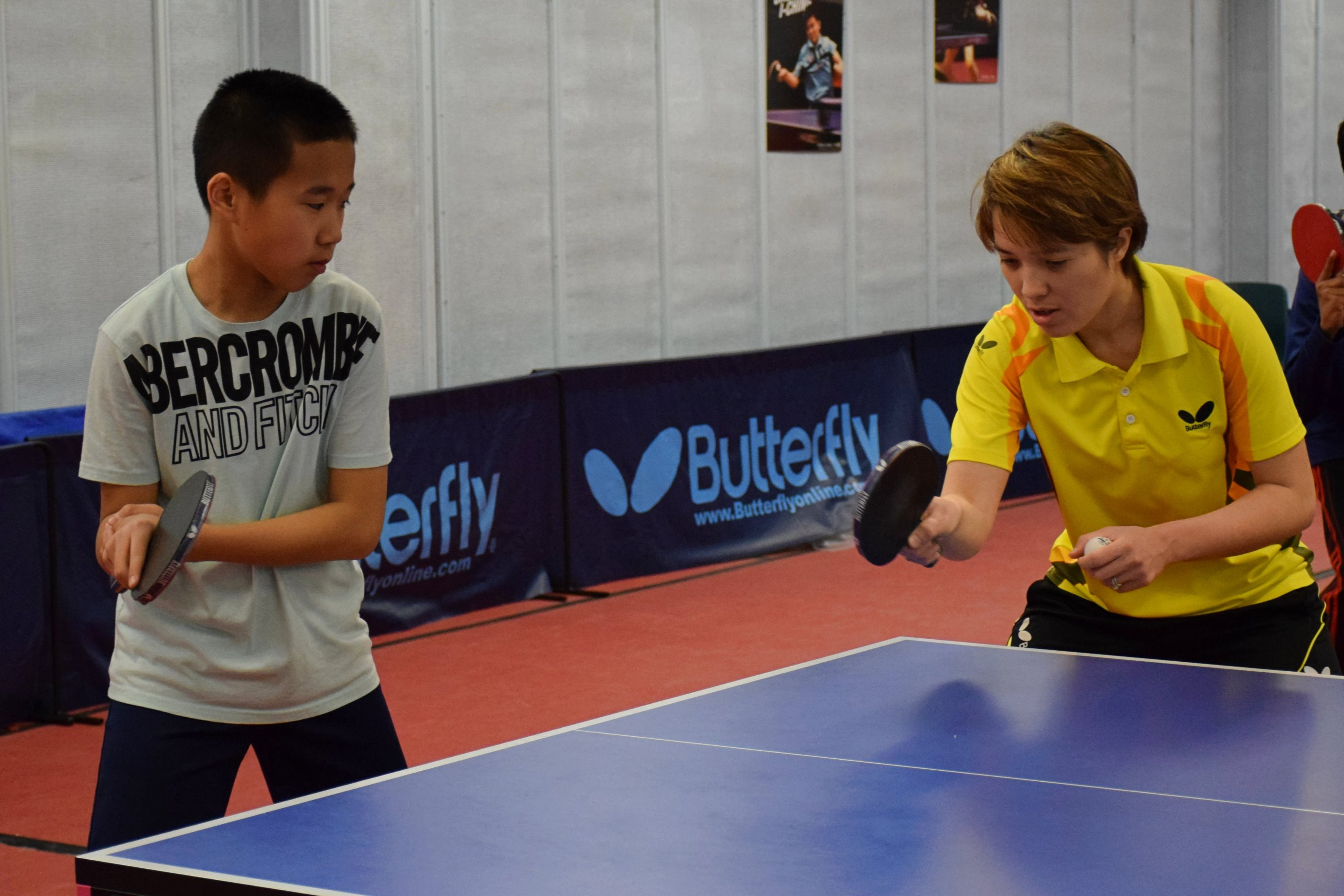 60 min table tennis lesson at home