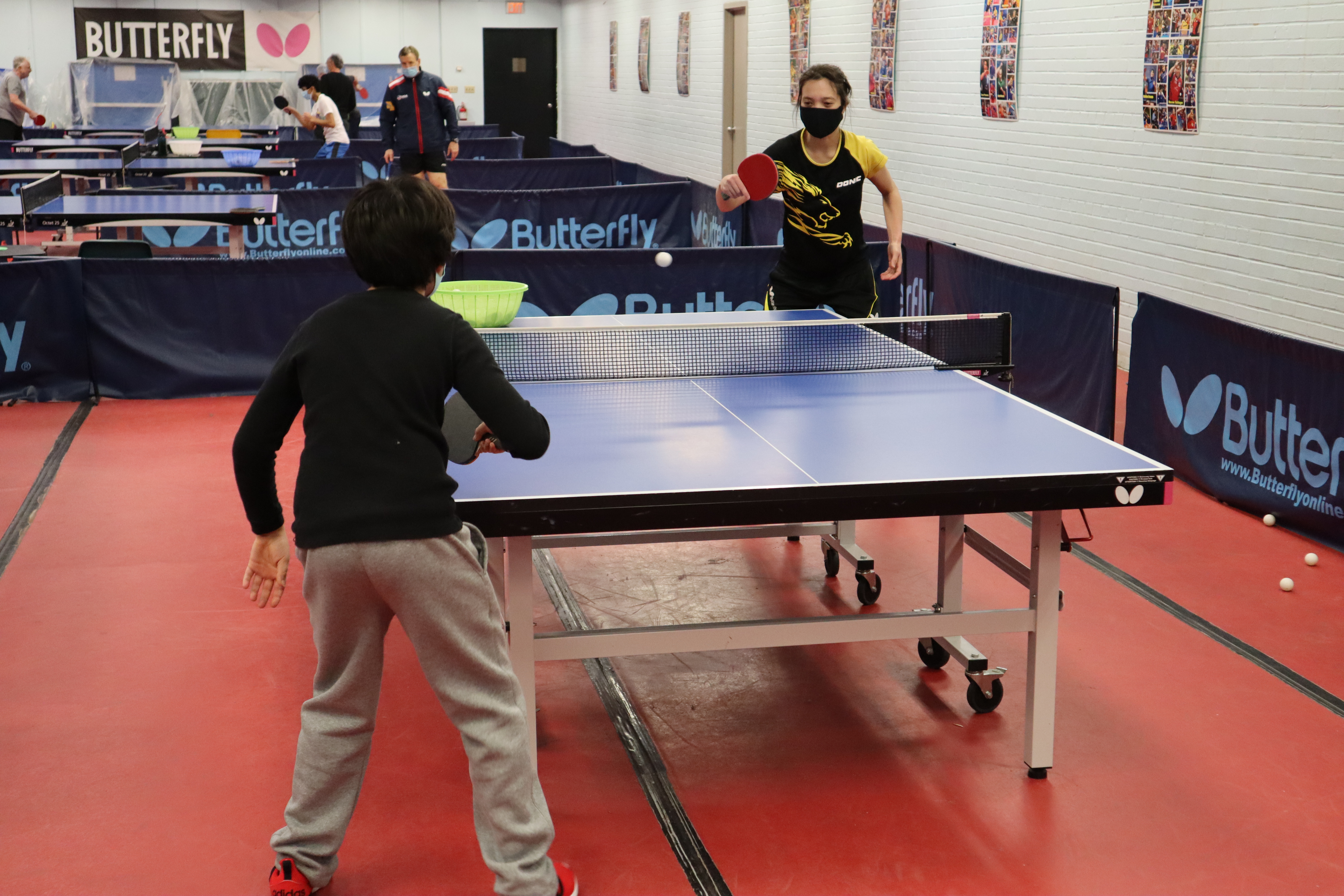 2 hour at home table tennis lesson