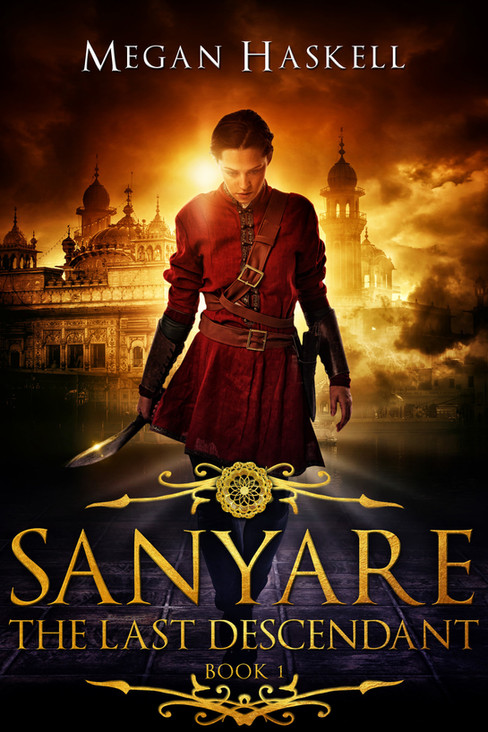 The Last Descendant (The Sanyare Chronicles, Book 1) - Signed Paperback