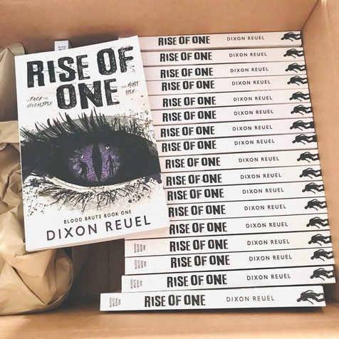 PAPERBACK: Rise of One - Blood Brute Book 1