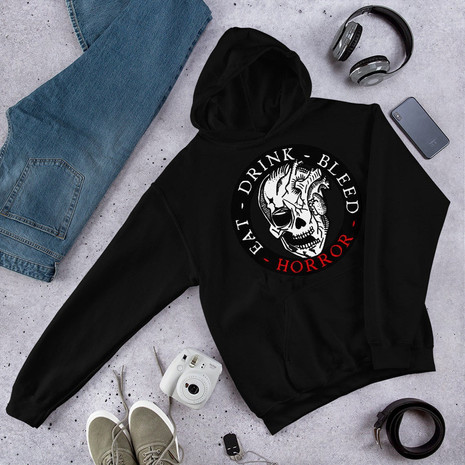 Comfy Hoodies - Horror Graphic