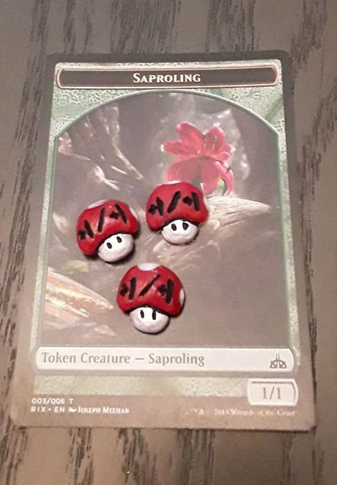 Cute Shroom +1/+1 counters for Magic: the Gathering