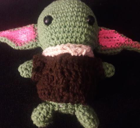 Crocheted Child
