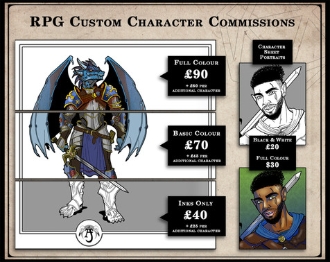 RPG Custom Character Commission