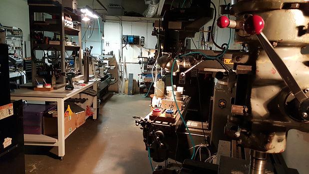 macrolever's macine shop at Dallas Texas, industrial automation in Dallas Texas