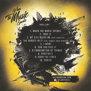 """Gil Thompson Releases Highly Anticipated Album """"When the Music Speaks"""""""