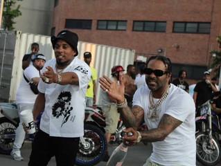 "Gwoppy & Jim Jones Shut Down Harlem While Filming ""Money & Violence"" Music Video"