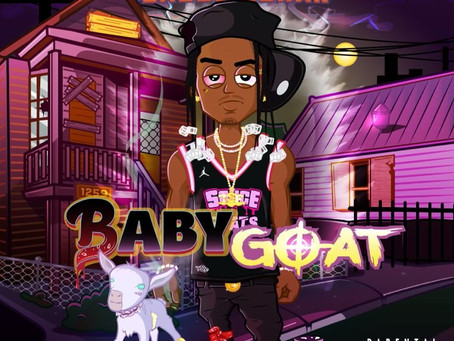 "Sauce Gohan Announces Next Release ""Baby GOAT"" on Instagram"