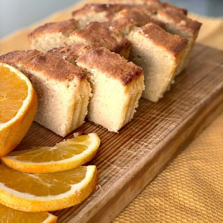 עוגת תפוזים בחושה ונימוחה
