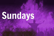 Sundays - information about our regular Sunday services and groups.