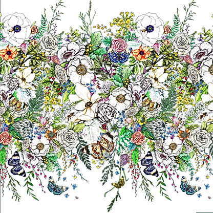 Enchanted Forest Repeat Pattern