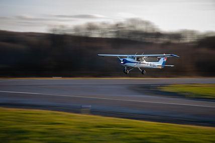 Vol d'initiation à bord du Cessna 150 F-BVBX