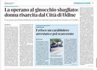 La operano al ginocchio sbagliato: donna risarcita dal Città di Udine