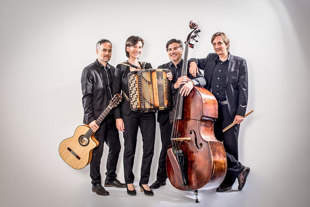 """Das Quartett Claudia Muff präsentiert ihre neue CD """"Spielrausch""""!"""