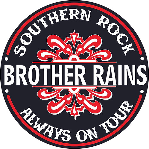 "Brother Rains 4"" Sticker"