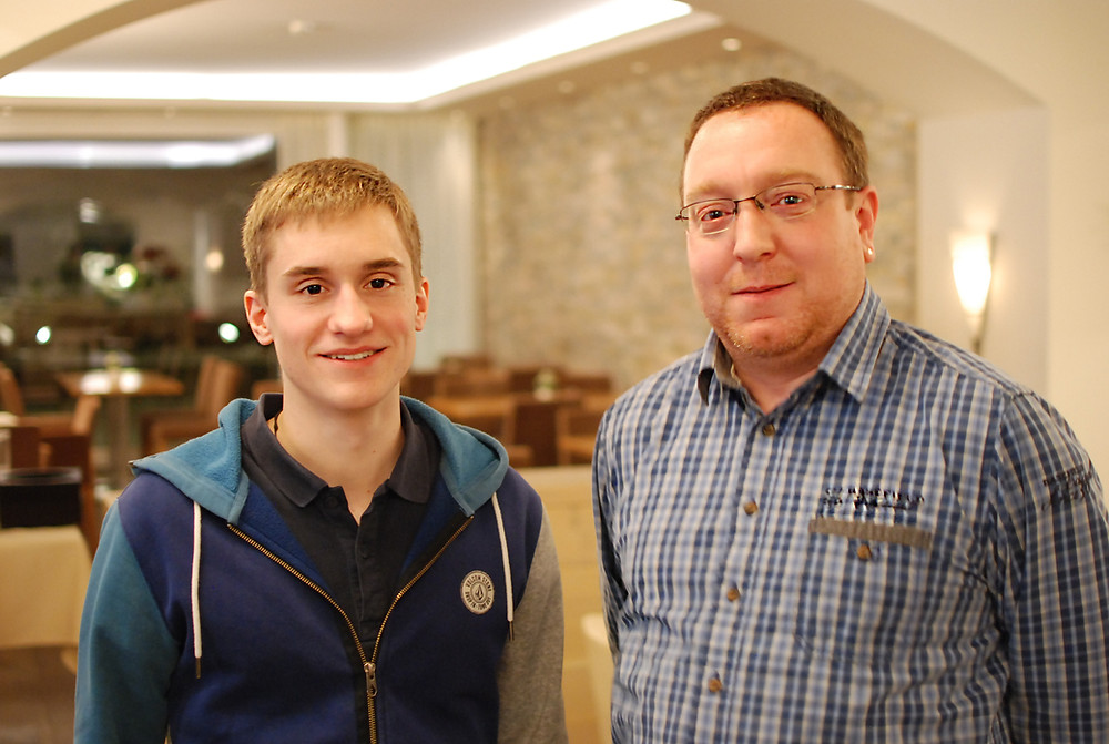 v.l.n.r. Marcel Odermatt und Michael Rüesch