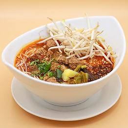 Photo of a delicious Thai soup