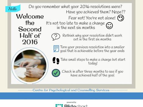 Half Way Through 2016!