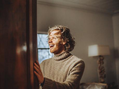 Men's Blonde Highlights